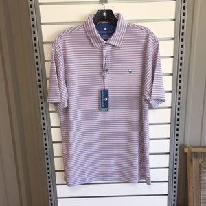 Southern Shirt Company Men's Halstead Stripe Polo